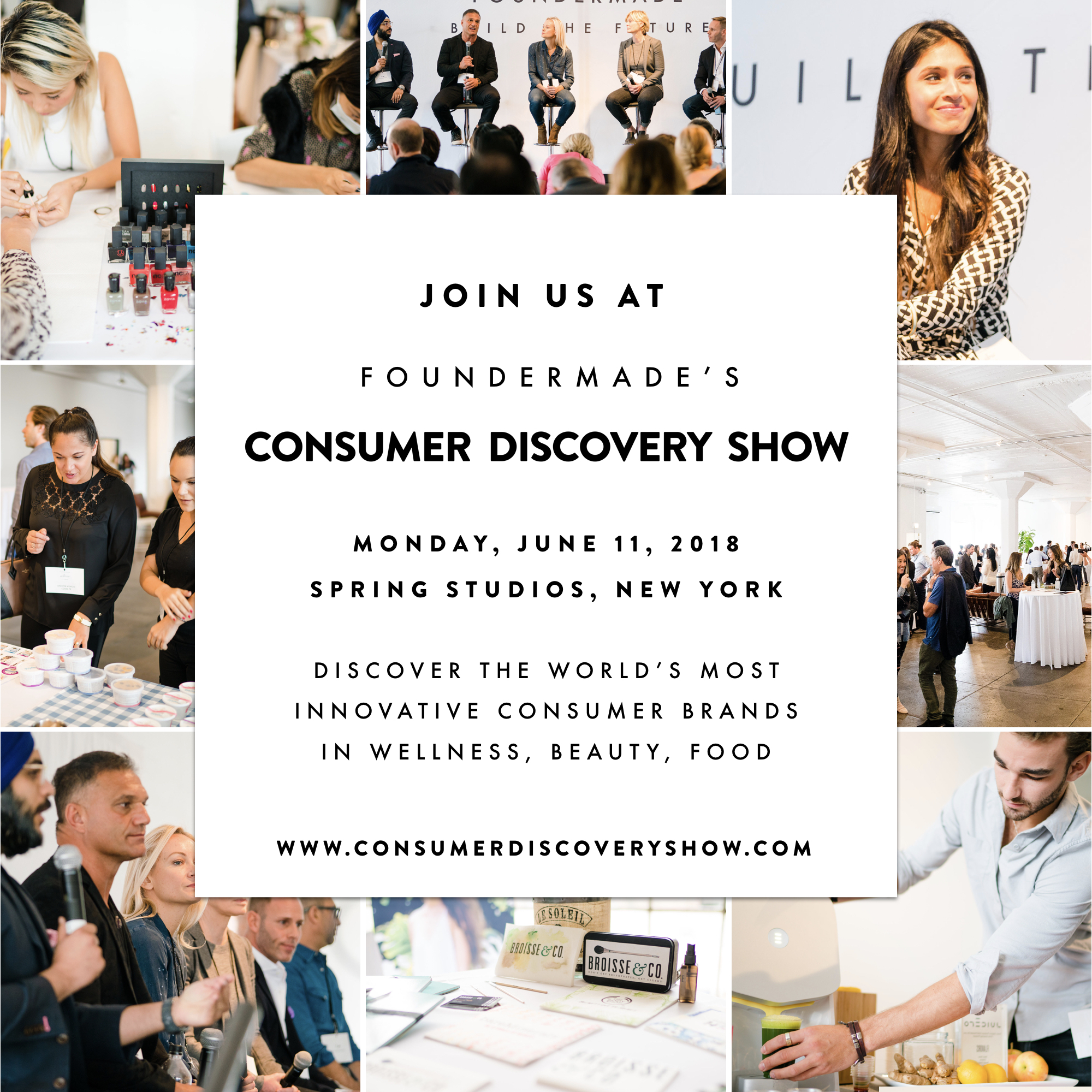 FounderMade Consumer Discovery Show 2018