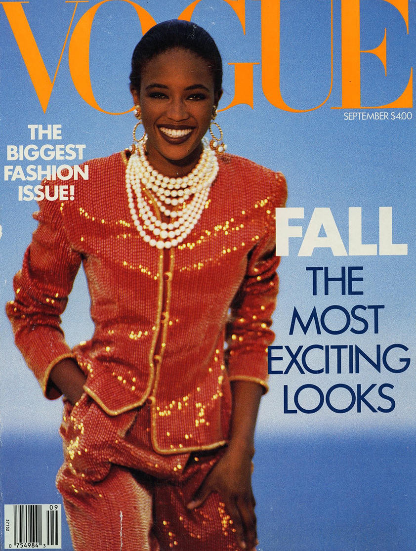 Bobbi Brown's first Vogue cover featured Naomi Campbell