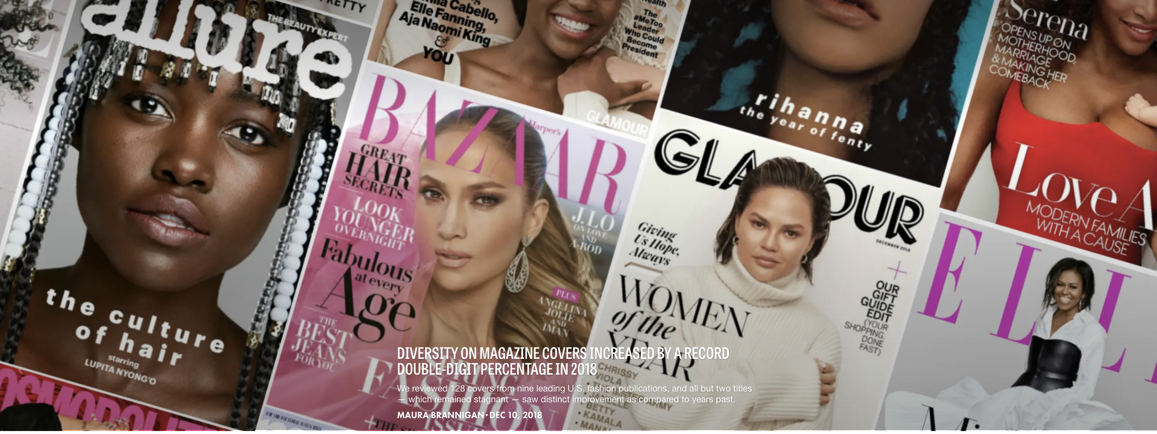 Record-breaking year for diversity in magazine covers
