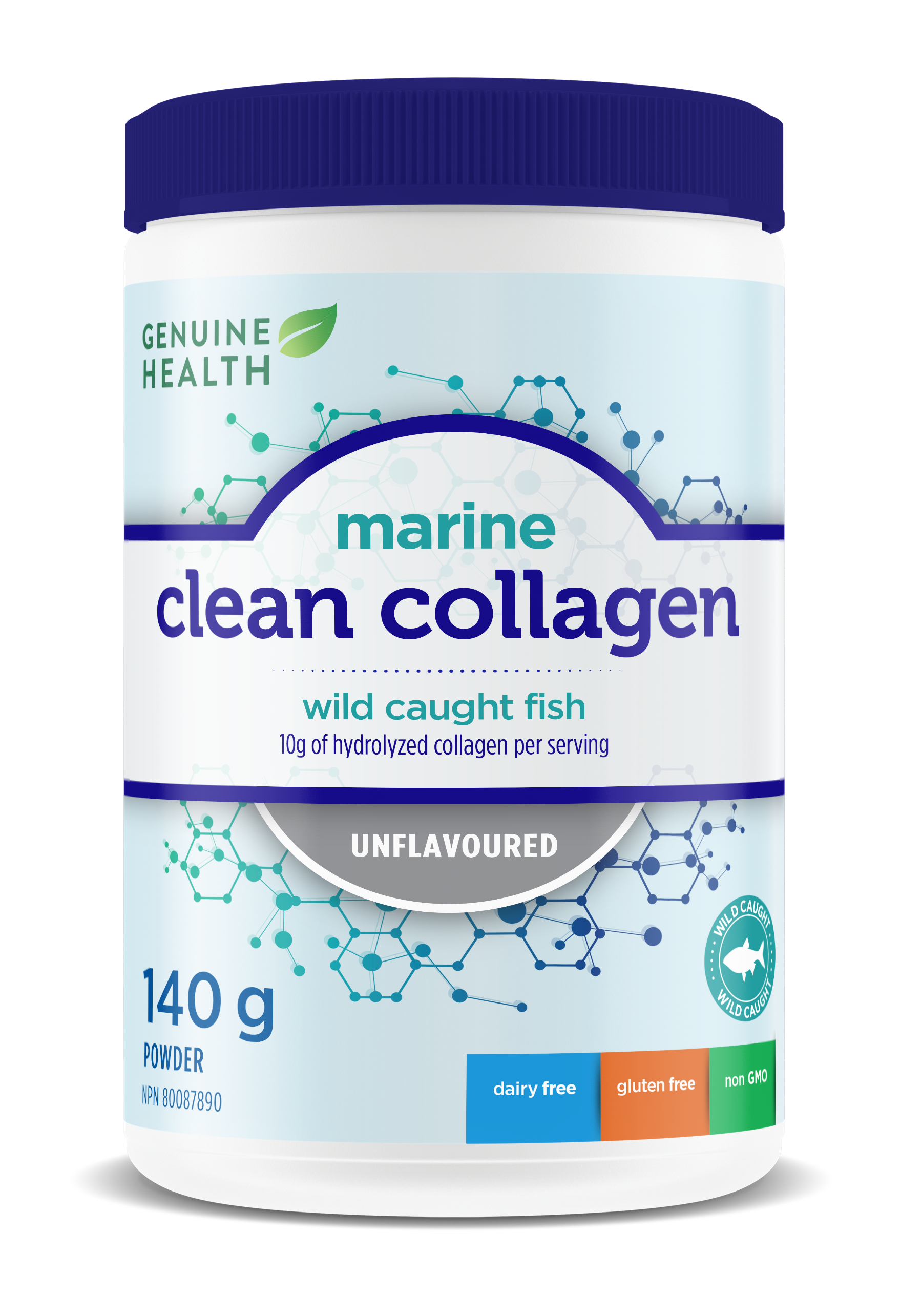 Genuine Health Marine Clean Collagen supplement