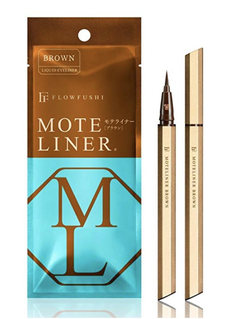 Flowfushi Mote Liner Liquid Takumi Eyeliner