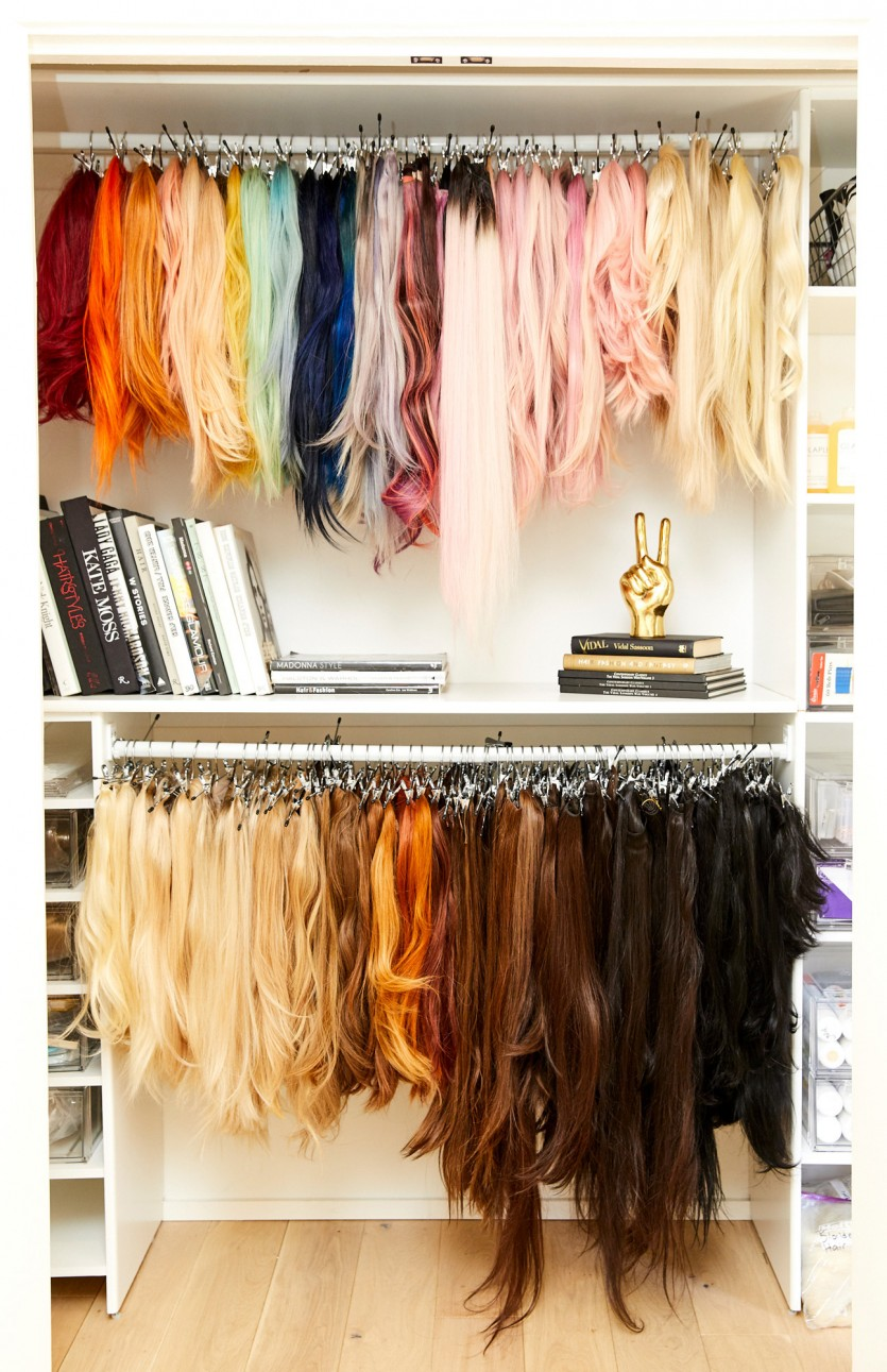 Iconic Wig Closet!