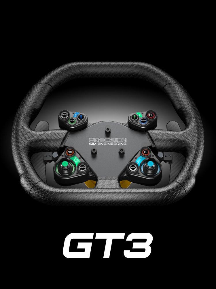 Precision Sim Engineering GT3 steering wheel