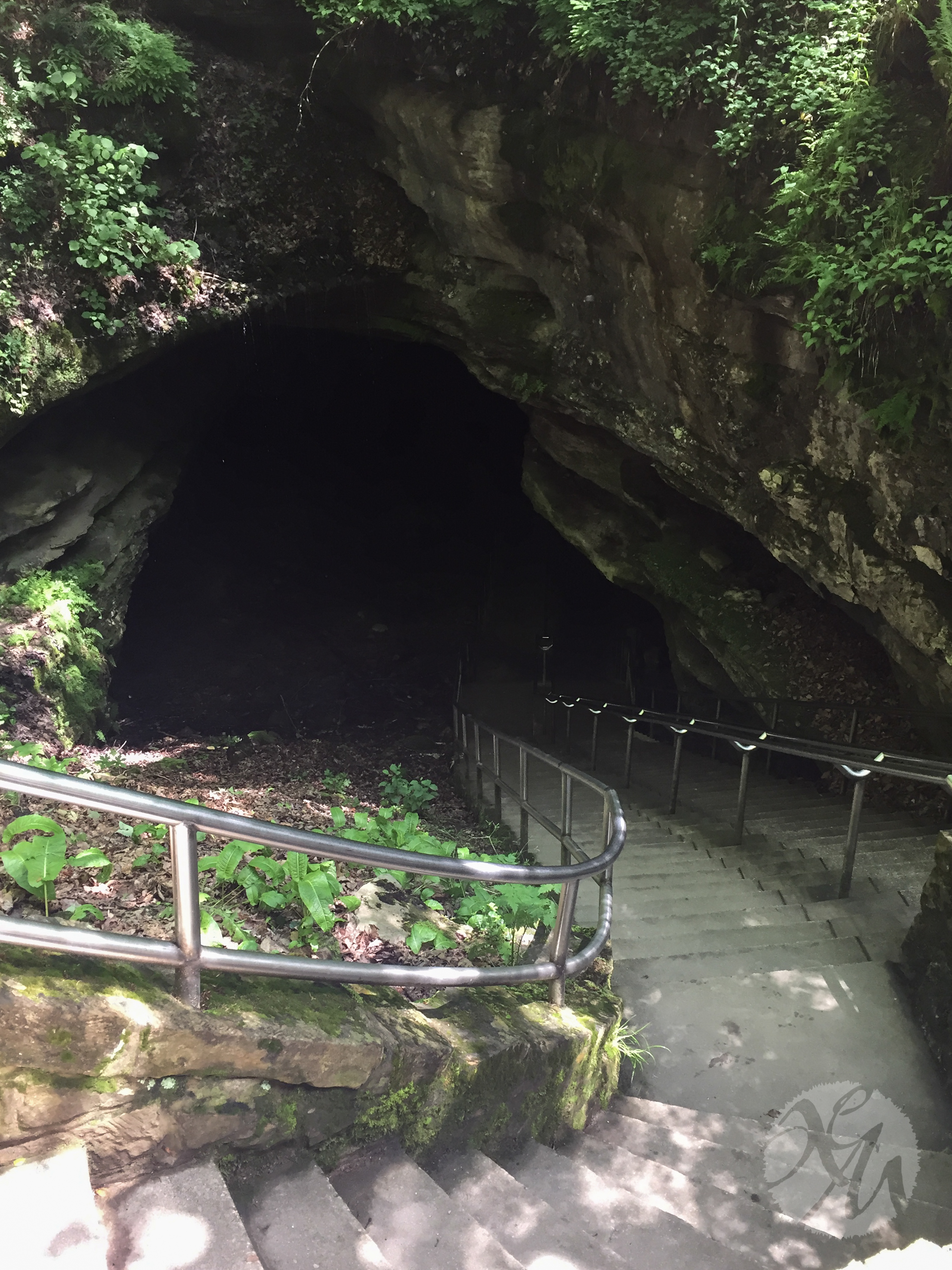 The Historic Entrance to Mammoth Cave.