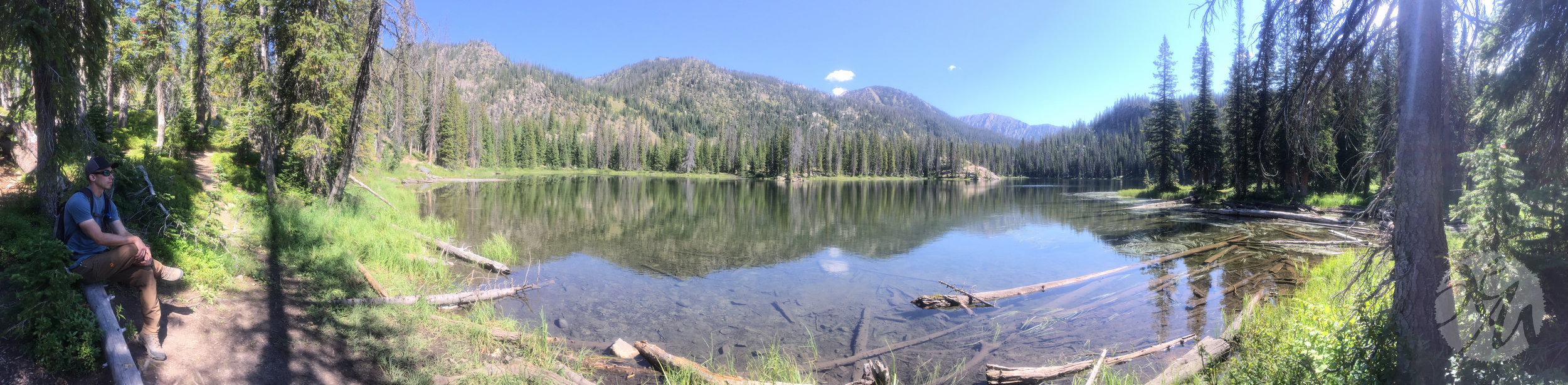 Gold Creek Lake near Clark, Colorado.