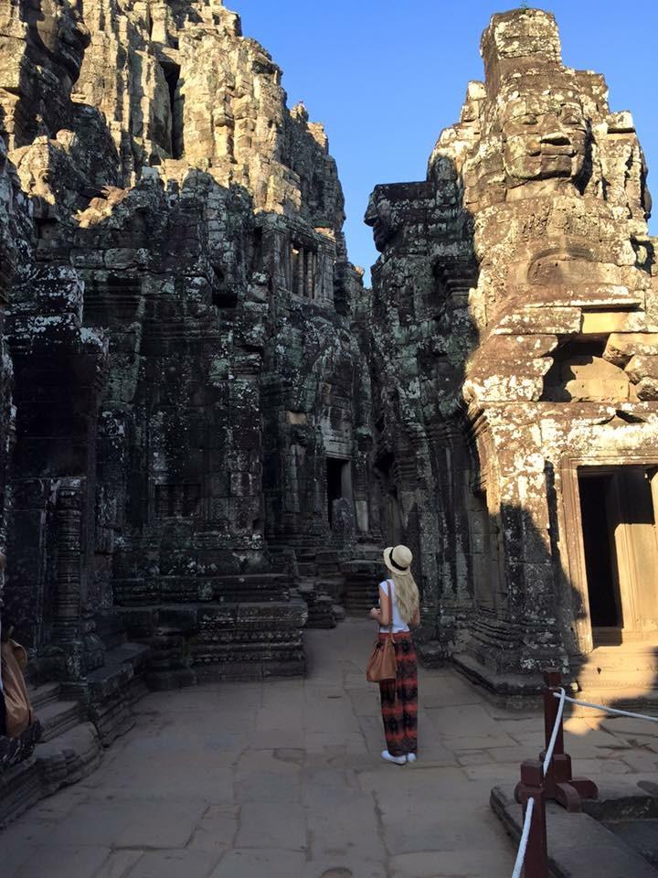 Travel Blogger Katy Johnson discovers ancient ruins.