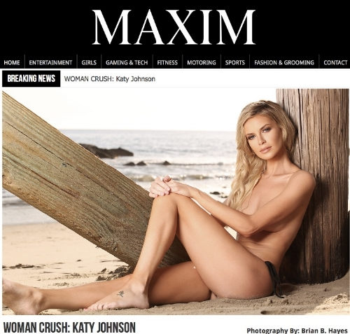 Travel Blogger Katy Johnson talks with Maxim on One model Mission, Women's Empowerment, and True Beauty