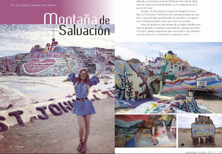 Travel Blogger Katy Johnson talks with Montana de Salvacion on One model Mission, Women's Empowerment, and True Beauty