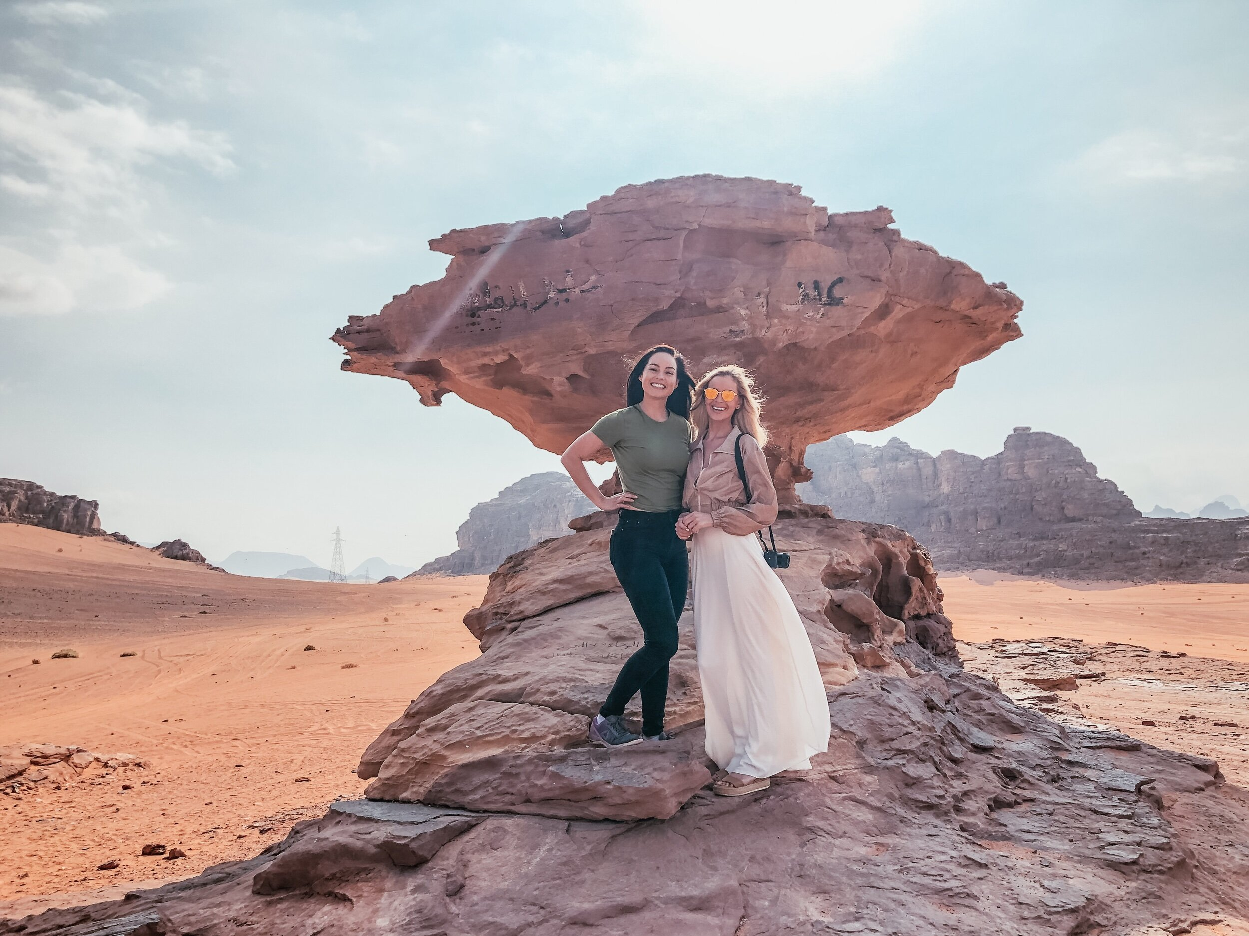 So many great photo spots in Wadi Rum.
