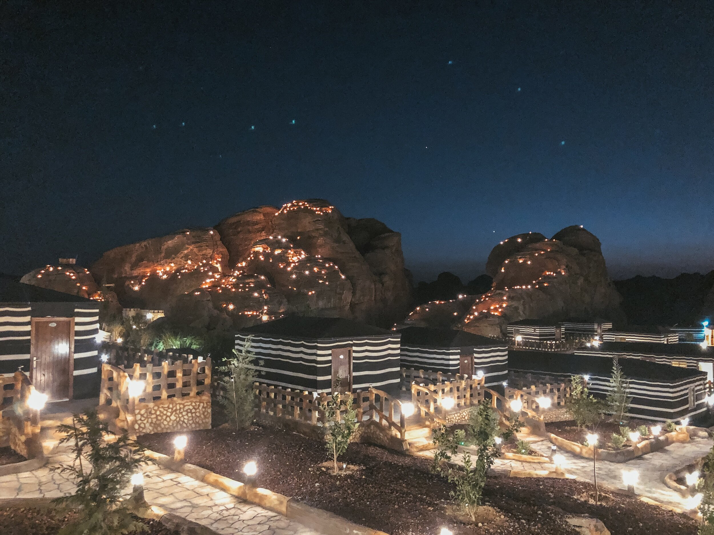 The lights in the caves is another hotel. It looked so cute lit up at night. It didn't look real. I loved it here.