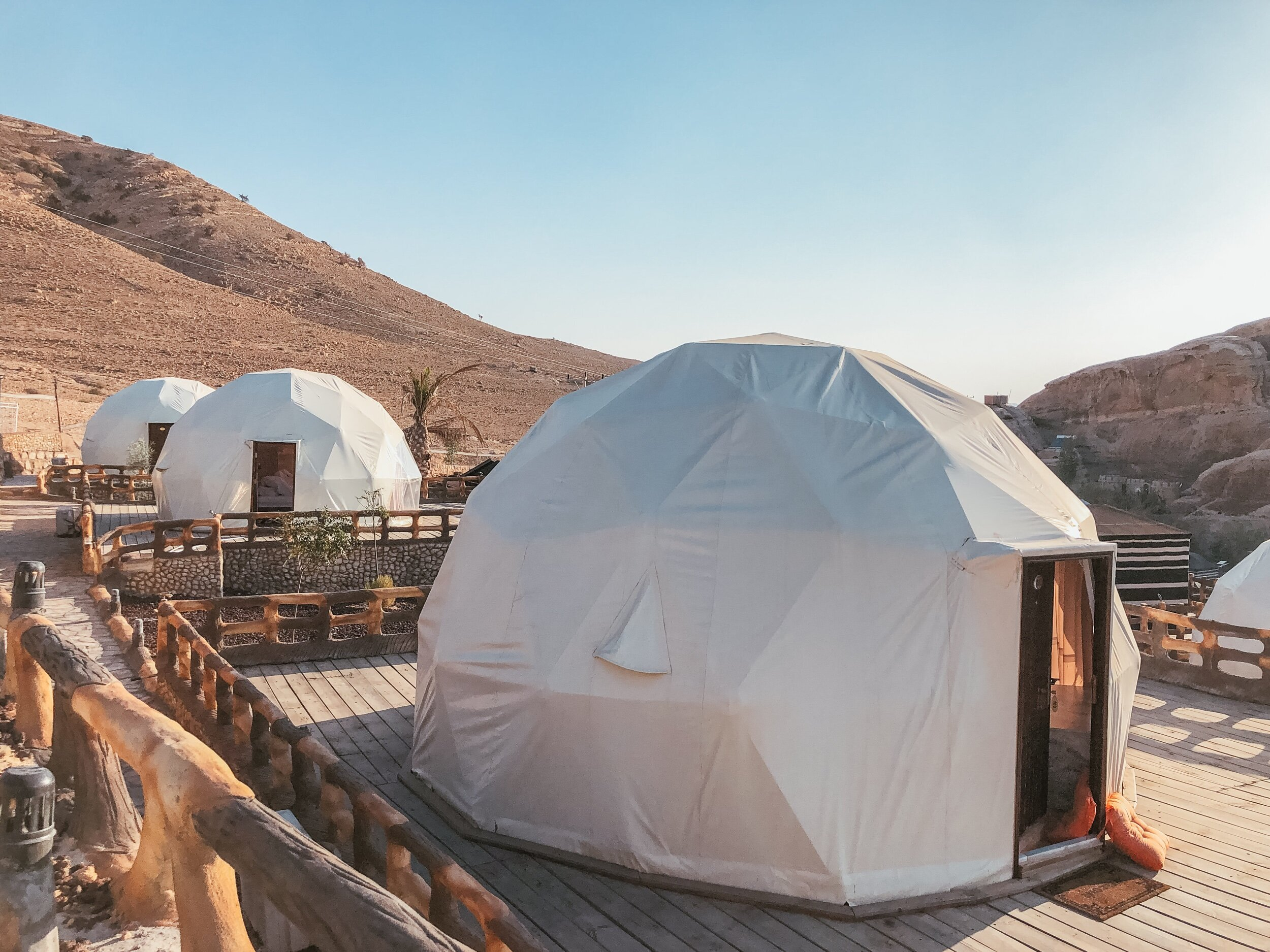 7 Wonders luxury camp was amazing.