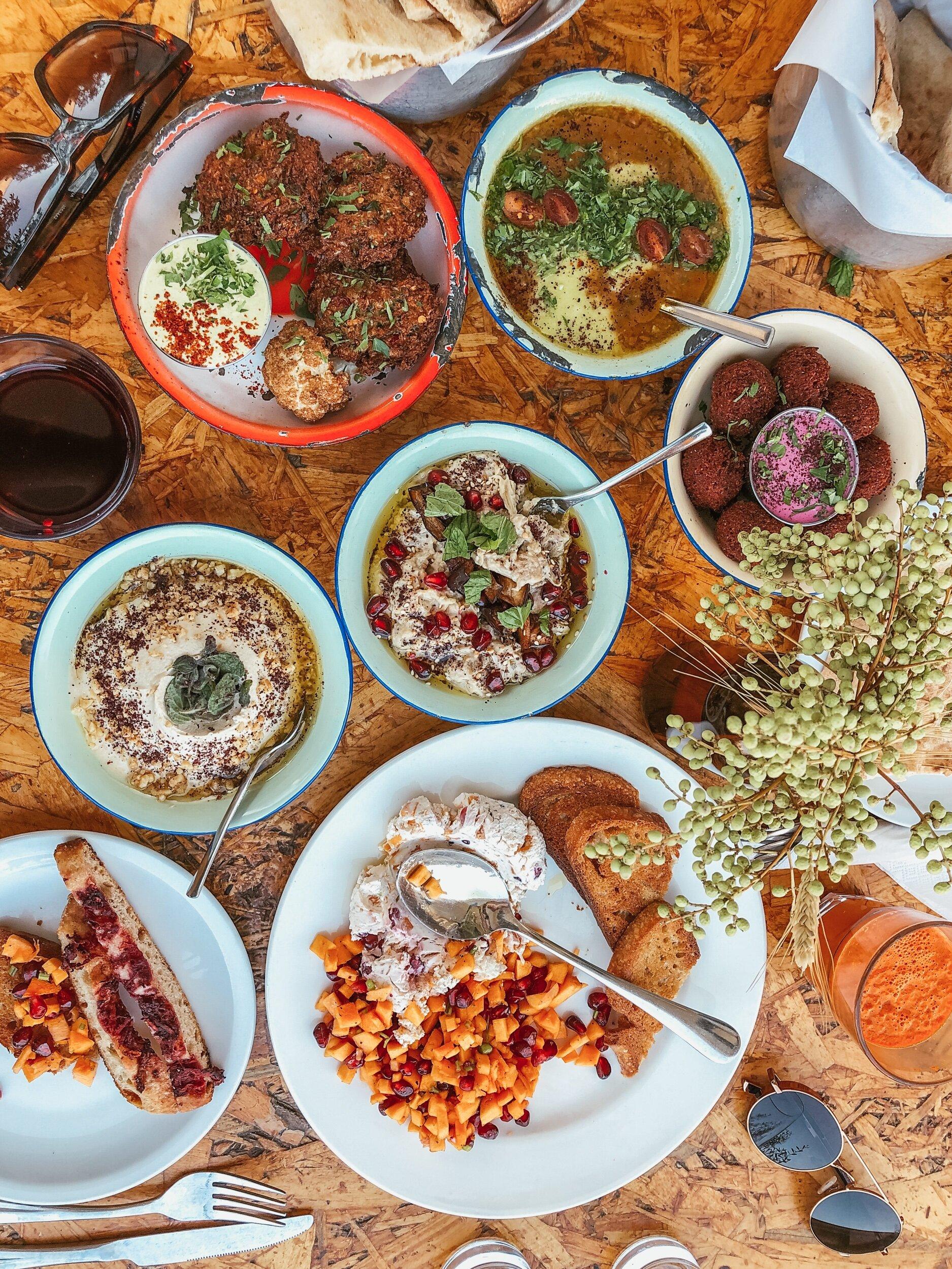 Amazing food at Shams Al Balad.