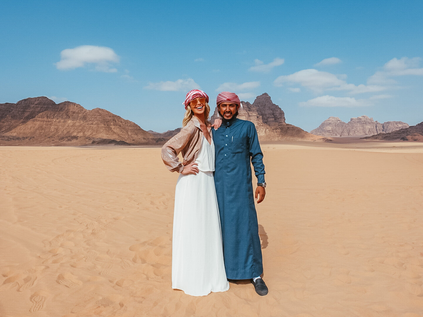 The best guide in Wadi Rum.