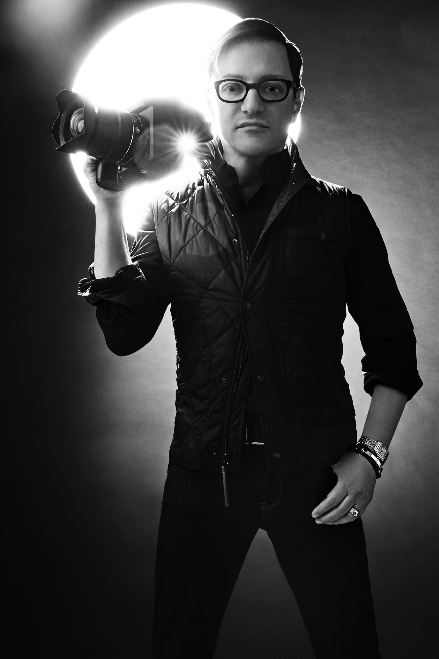 Matthew Rolston, photographed by Davis Factor.