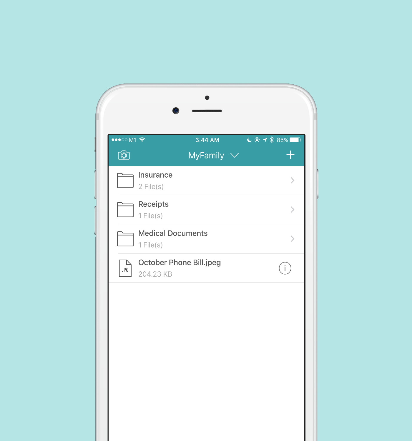 - Attach all your important documents (prescriptions, vaccination details, flight tickets, contracts and more) by using email, camera or direct upload from the cloud. Never feel frazzled about leaving important files behind.
