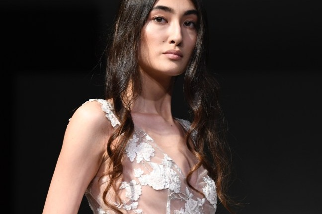 """DanielPlusLauren.com - March 2018""""Allison Nicole Designs from Maryland, U.S showcased a line of elegant femininity, with soft, flowing silks and satins that gently caressed…"""""""