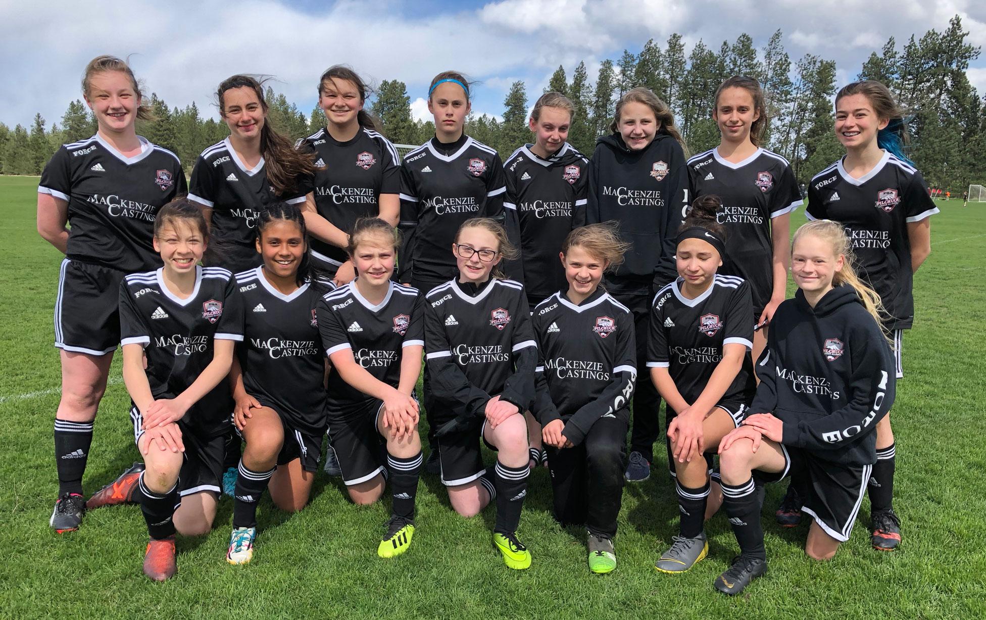 Pilchuck Soccer Alliance FORCE '06 Girls 2018/2019 Quarterfinal Match at Spokane Sounders