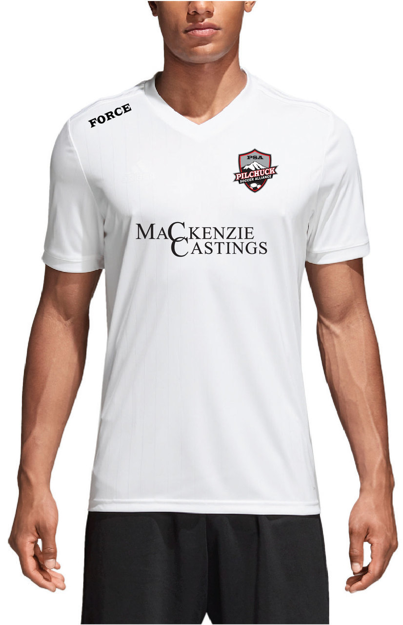 Mens/Youth White Jersey
