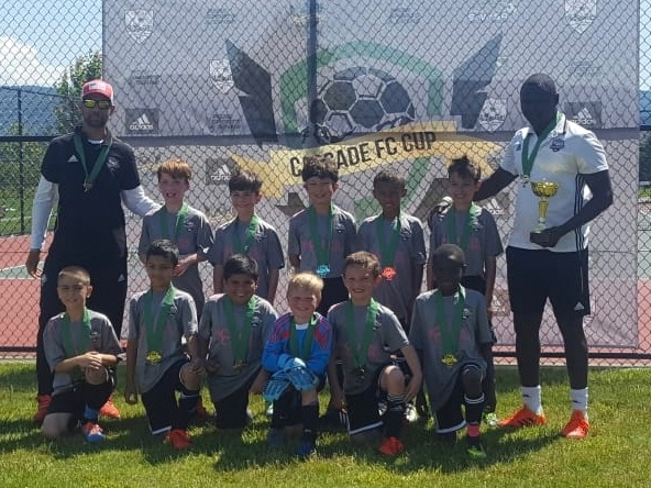 Force '10 Boys—2019 Cascade Cup Silver Division Champions