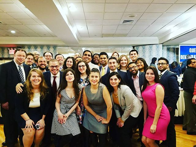 Queens County Young Dems unite at Women's Executive Committee of Queens County Democratic Party Annual Ladies Luncheon! #OnwardsAndUpwards