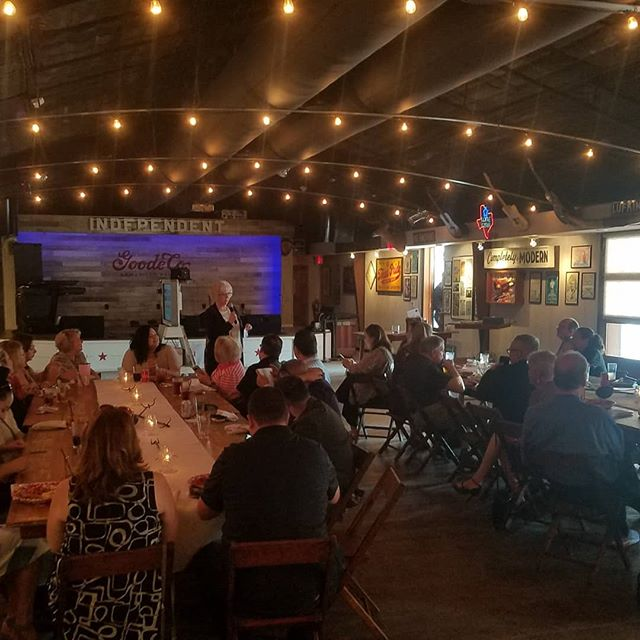 Another great CHEP meeting today! Thanks to @goodecoevents for hosting at your incredibly cool, unique venue. See everybody next month.  #pbdjs #networking #networkingevent #houston #weddings #wedding #weddingplanners #events #eventplanning #eventplanners #dj #photobooth #eventrentals #party #houstonweddings #houstondj #houstonphotobooth
