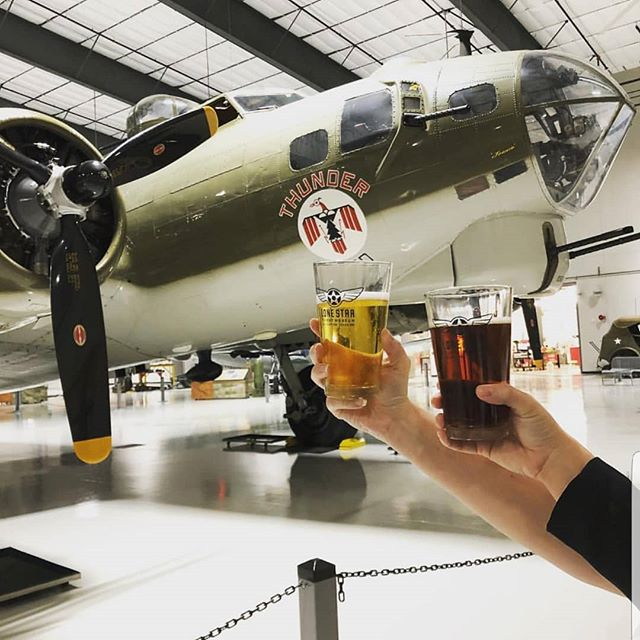Beer, Barbeque and Bombers! Come out and have a blast with delicious food and beer from eight of Houston's top breweries, including @karbachbrewing @8thwonderbrew @nolabelbrew and more at one of Houston's coolest venues @lonestarflightmuseum We've got the tunes!  #pbdjs #beer #barbeque #festival #food #foodfestival #beerfest #hangarbash #houston #dj #photobooth #lighting #event #eventvendor