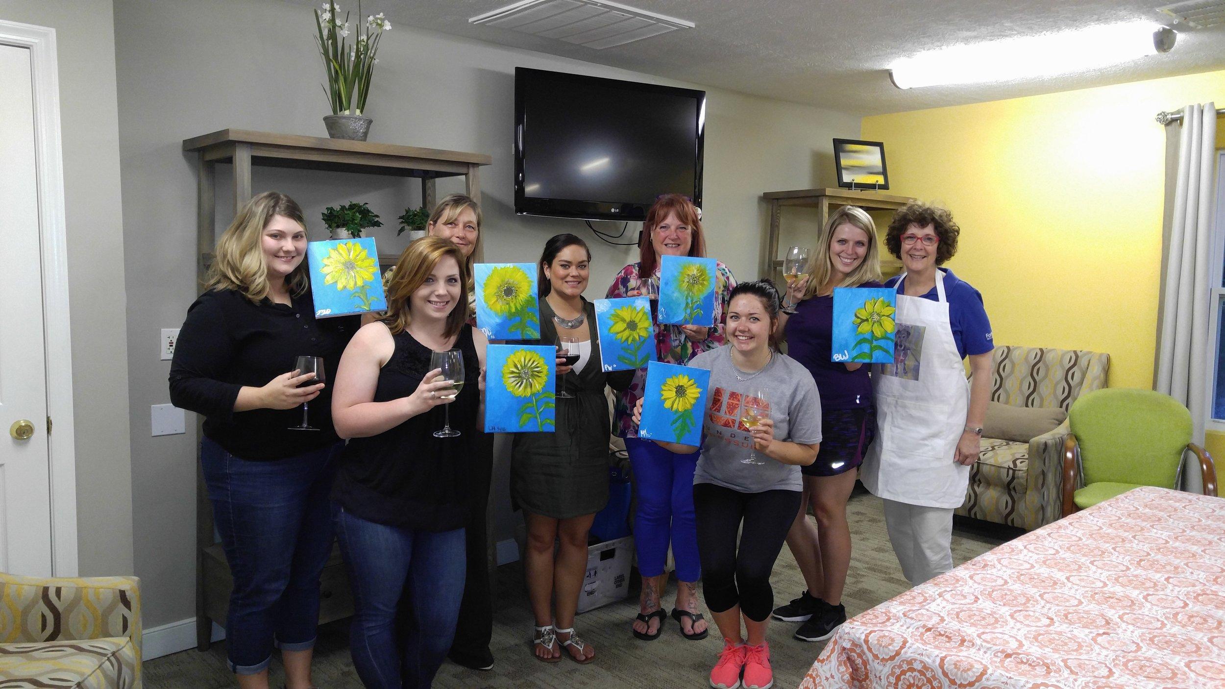 Paint night for Kidney Foundation.jpg