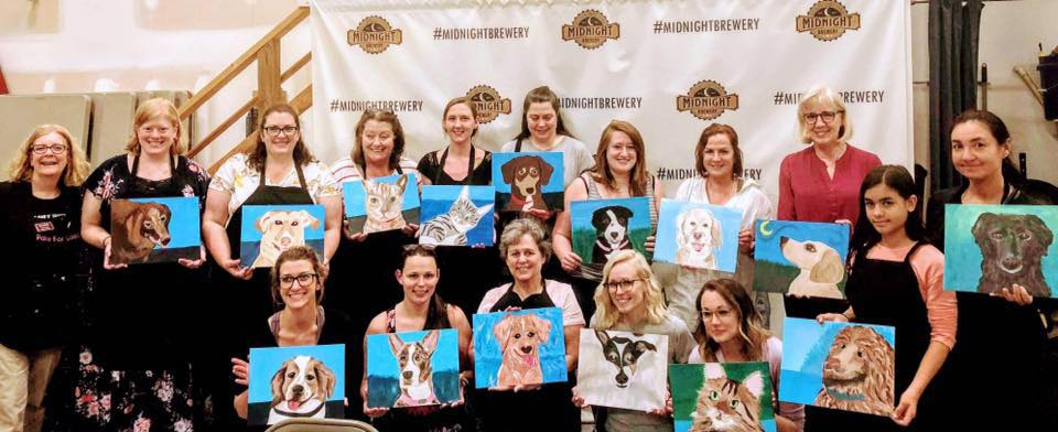 Paint Your Pet night at Midnight Brewery to benefit Richmond Animal League