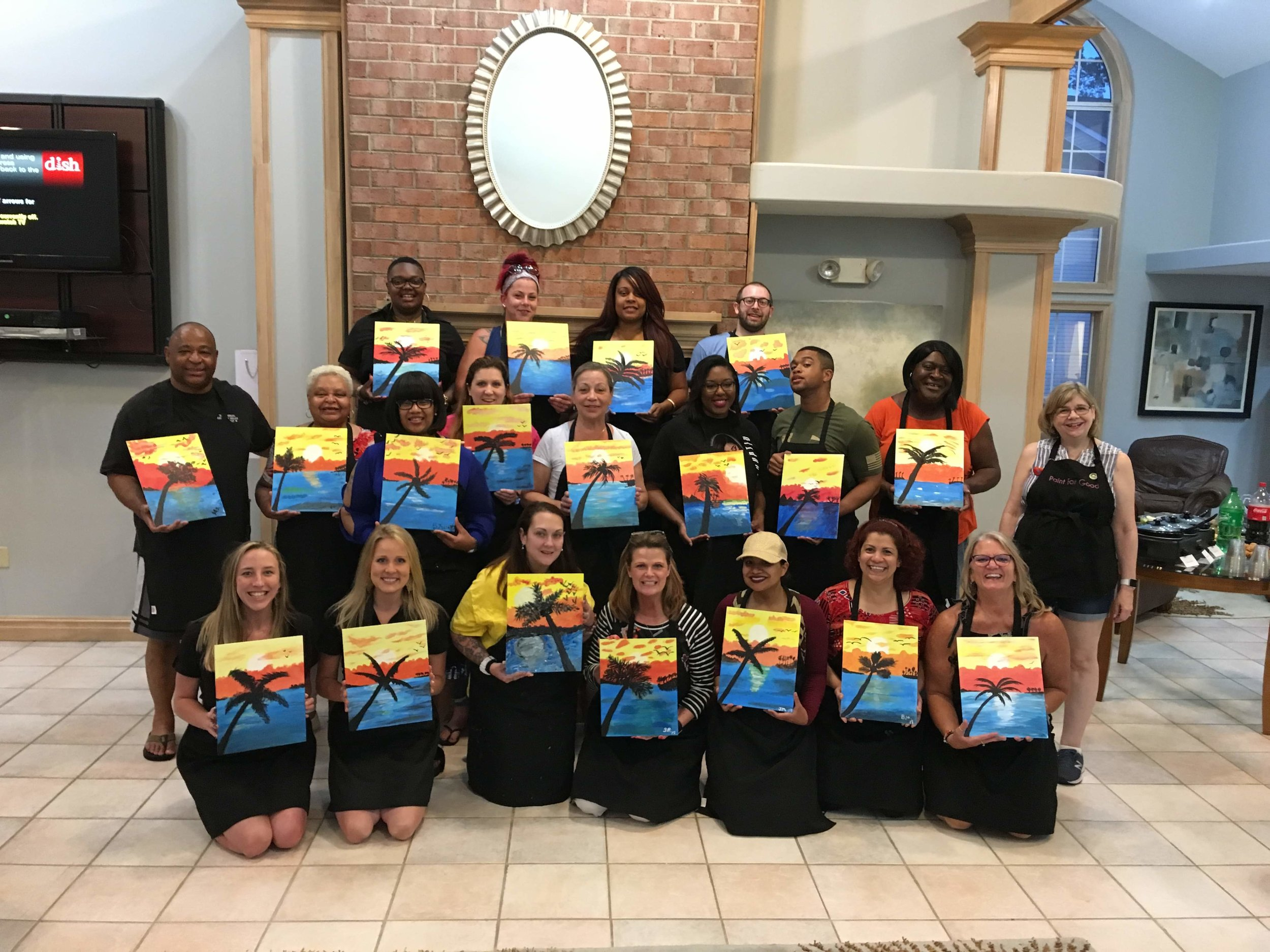paint events   - Paint For Good is the perfect choice for your next team-building event, fundraiser, or party! We will travel to you or assist with securing a location for your event.