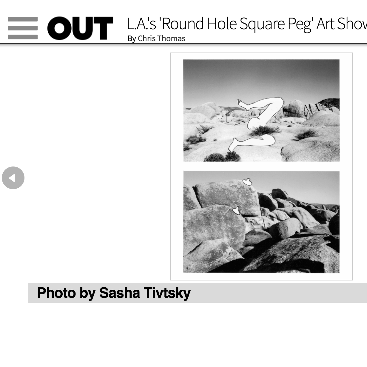 OUT Magazine Press
