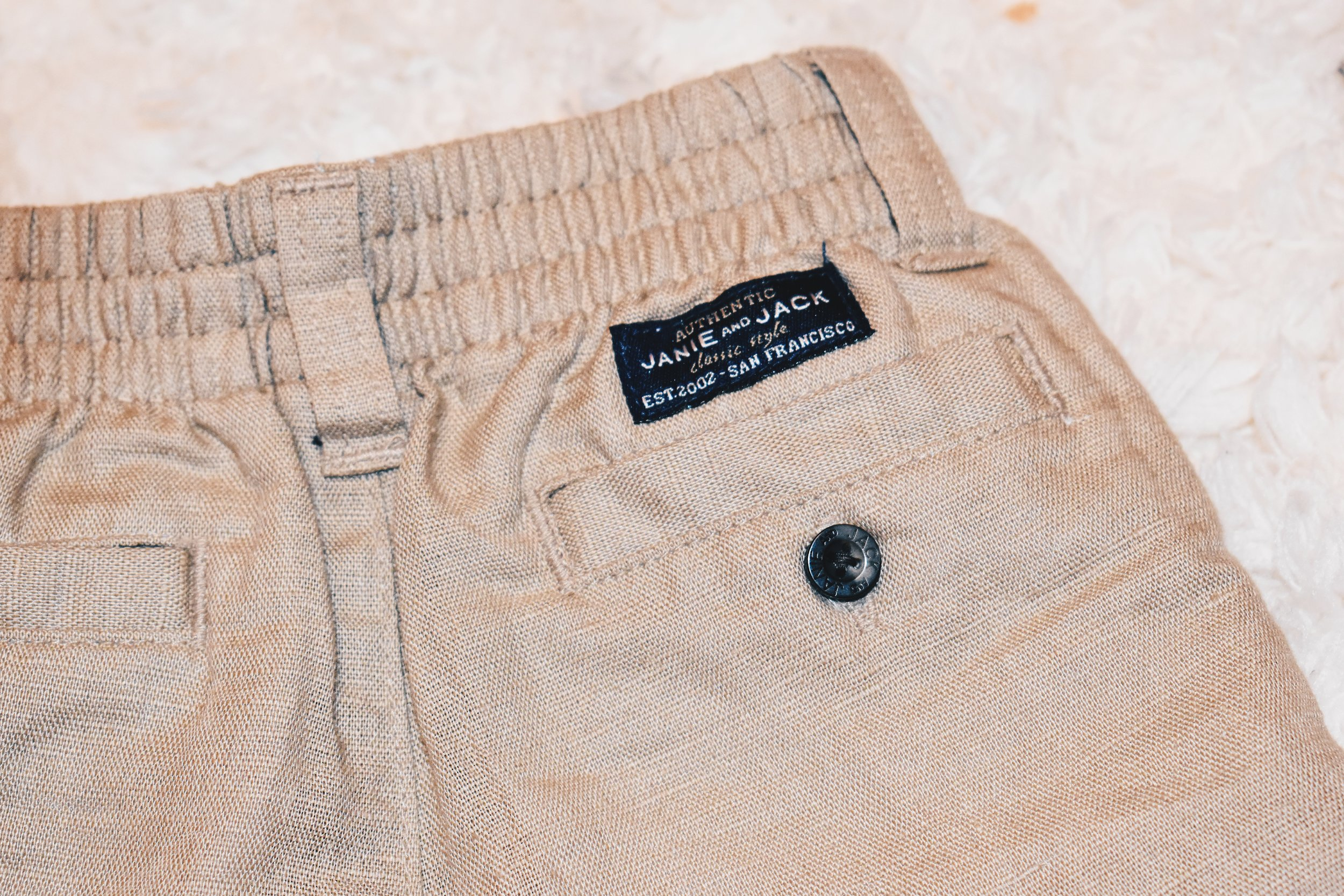 tiny linen shorts. I love how light weight they are!