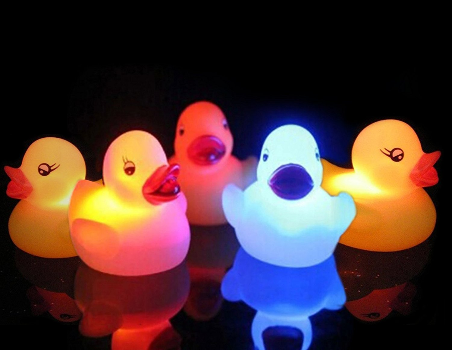 Make bath time even more FUN with these light up ducks. We just ordered these and I'm thinking Nixon will love them! He's had some light up toys in the past and he just becomes mesmerized.  Get them  HERE .