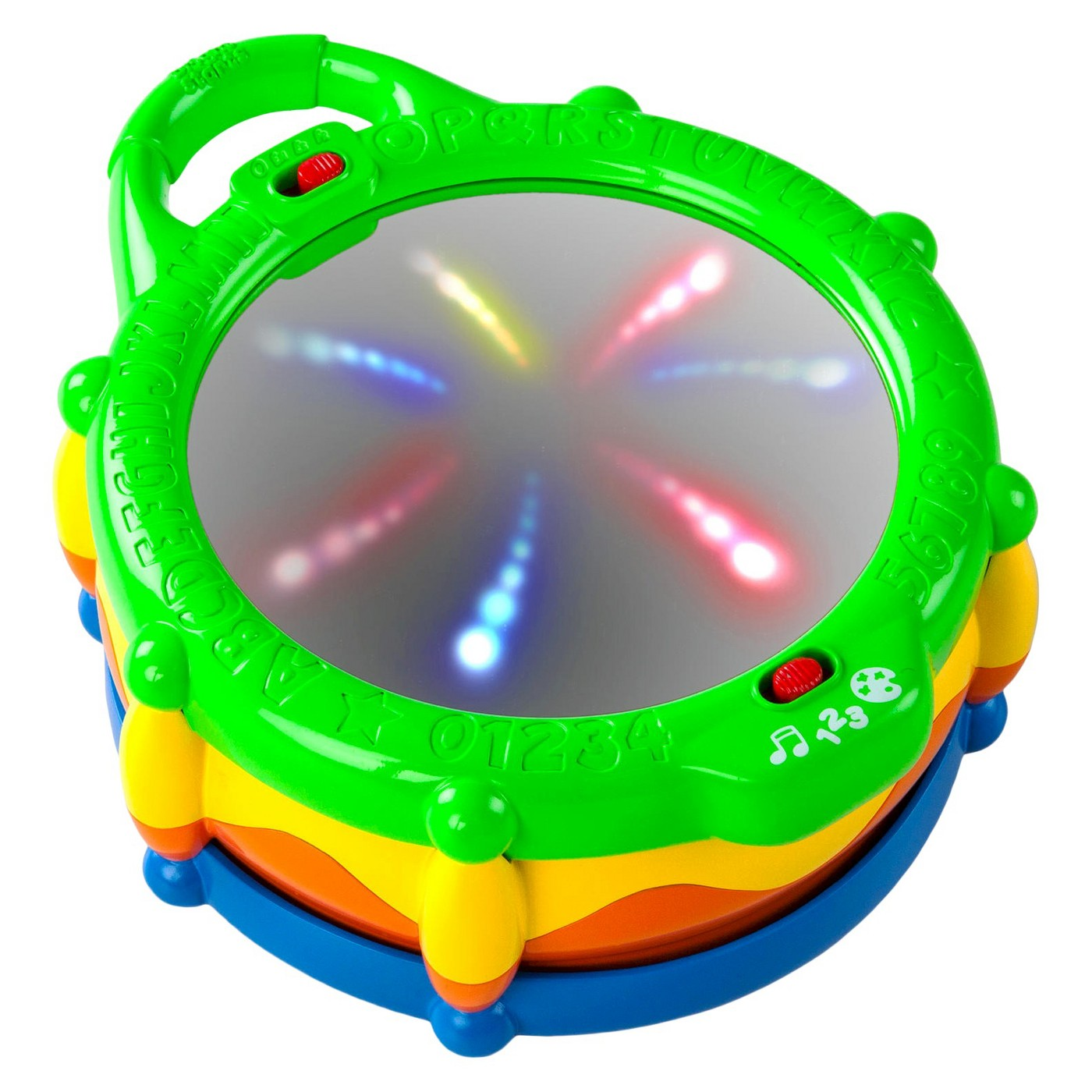 Mirrors, music, lights... just yes. This is especially great for babies who are practicing sitting up.  Get it  HERE .