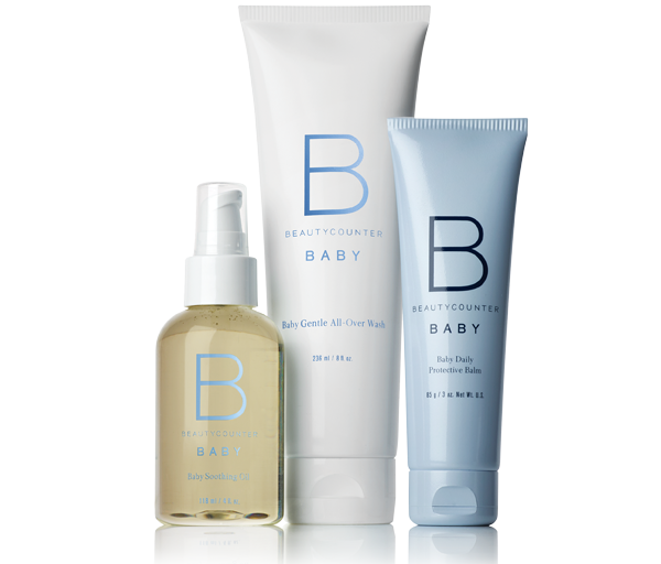 Beauty Counter Baby Bundle - I was gifted this before Nixon was born and it's the first wash/balm we ever put on him (besides the ones at the hospital). It really doesn't get more gentle than this. Shop it HERE.