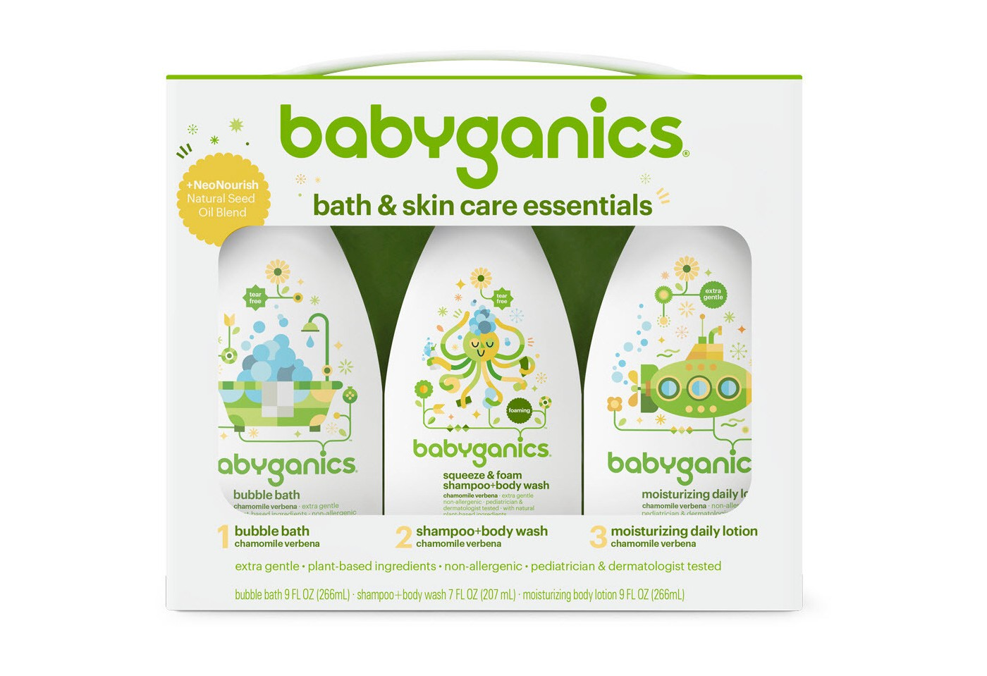 Babyganics Bath Set - I honestly love all Babyganics products. They're safe, gentle and plant based. Buy this set HERE.