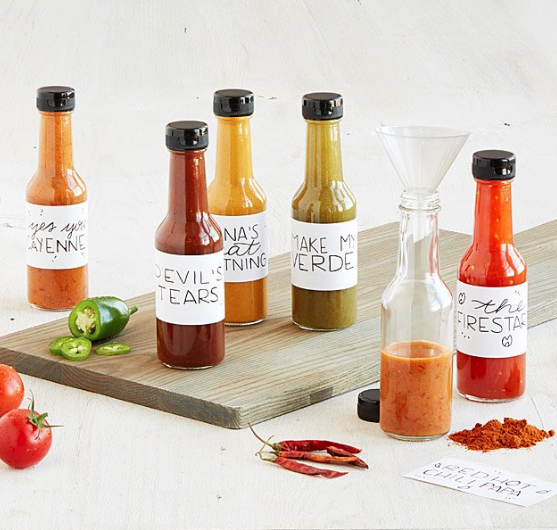 Make Your Own HOTSAUCE kit.. so cool