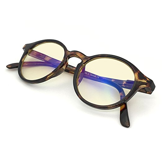 have you heard of blue light glasses? apparently they make a world of difference.