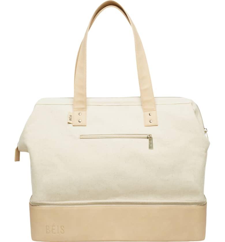 the cutest weekender/travel bag.
