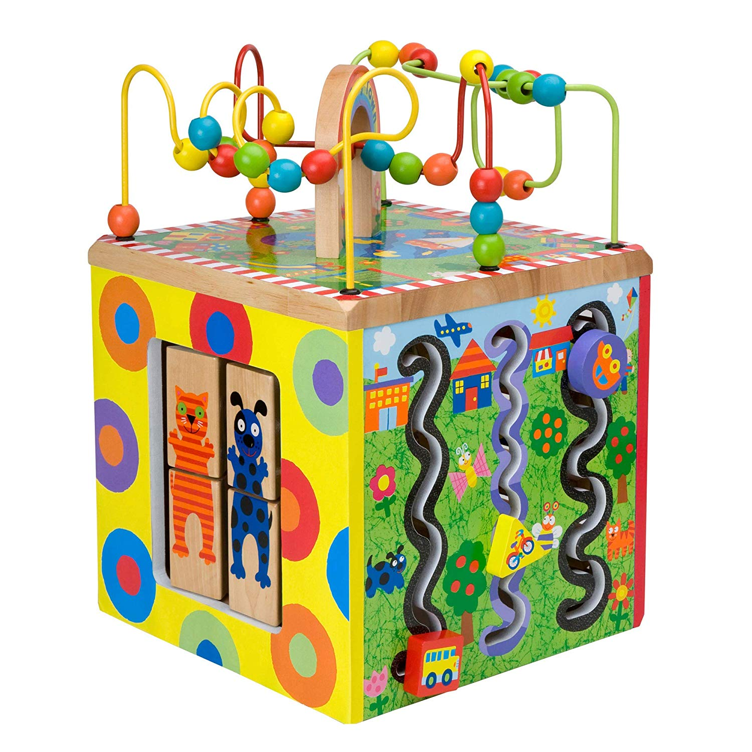 These cubes entertain kiddos for hourss  (okay, not hours, but a pretty long time)