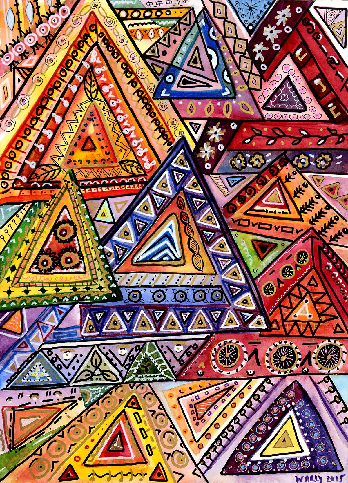 Tri-Mandala