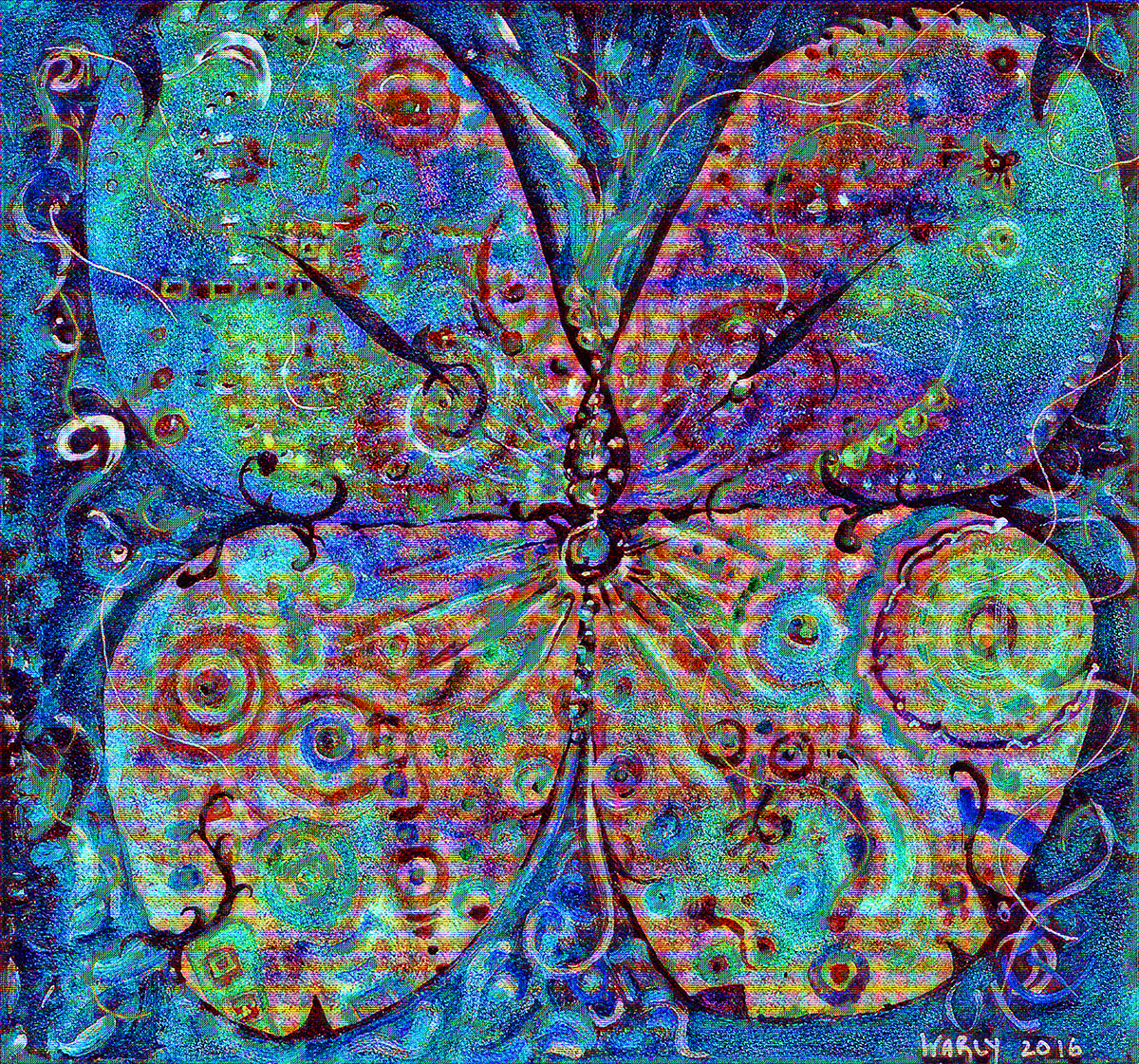 Butterfly Magic 8