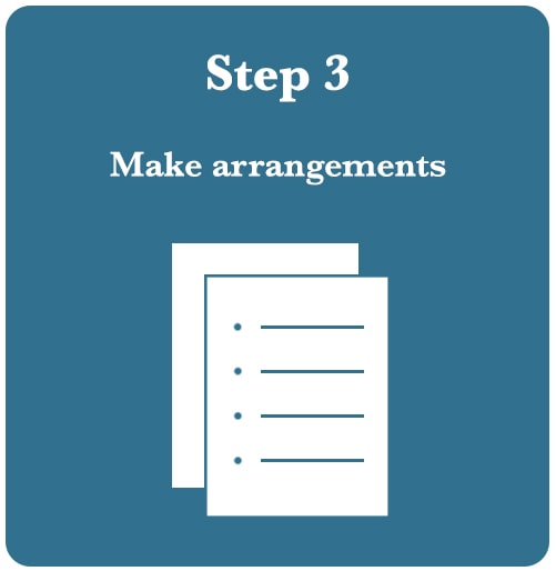 Make Cremation Arrangements