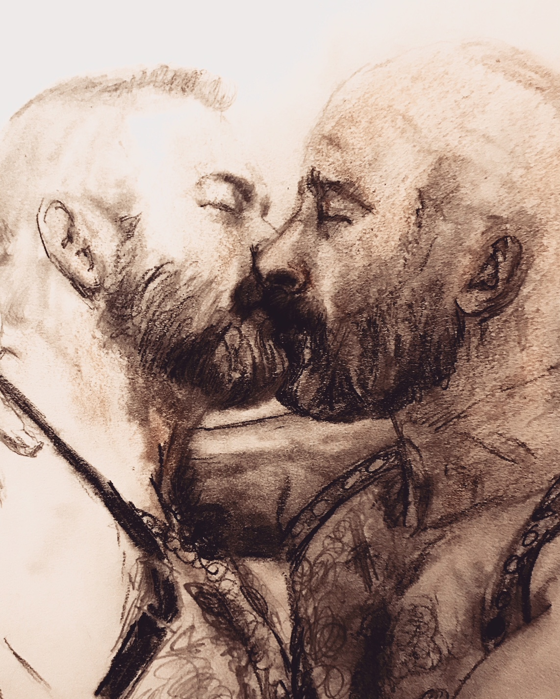 Quick Study of A Kiss