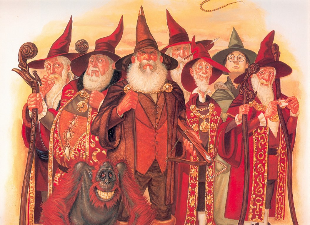 The Wizards of the Unseen University