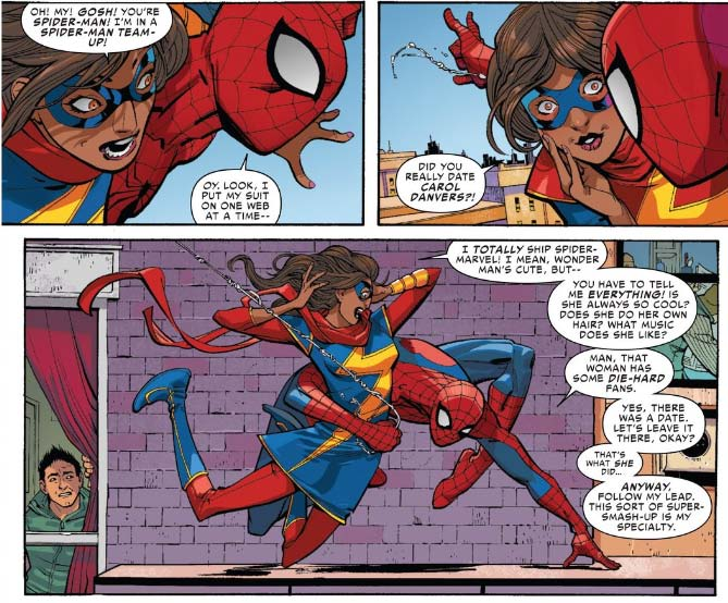 Kamala and Spider-Man,  Amazing Spider-Ma n #7