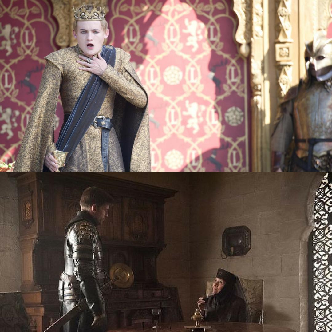 Joffrey and Olenna