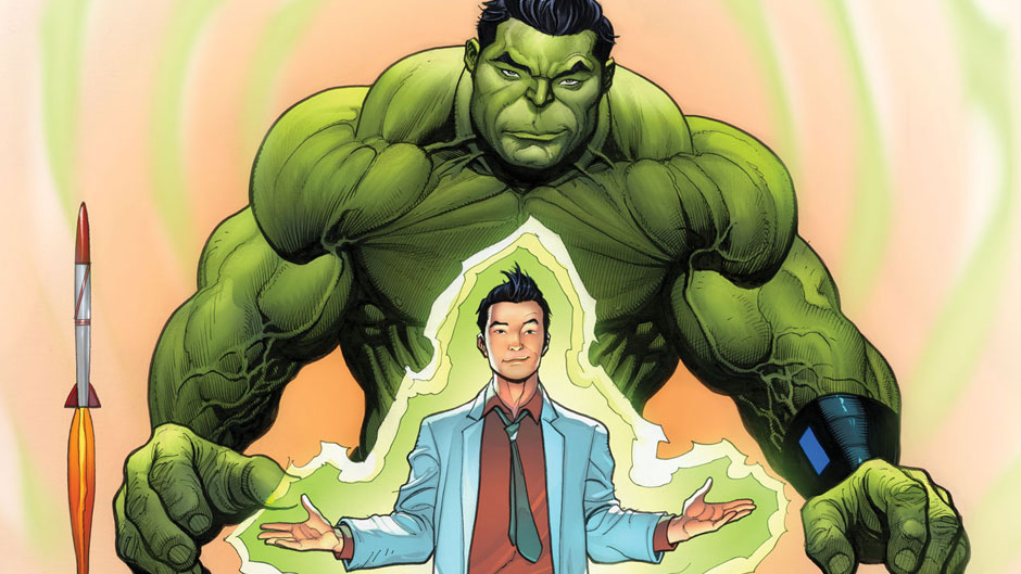 Amadeus Cho as The Hulk