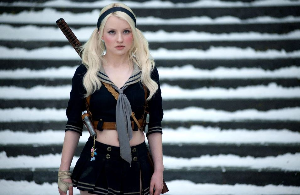 Emily Browning as Babydoll,  Sucker Punch
