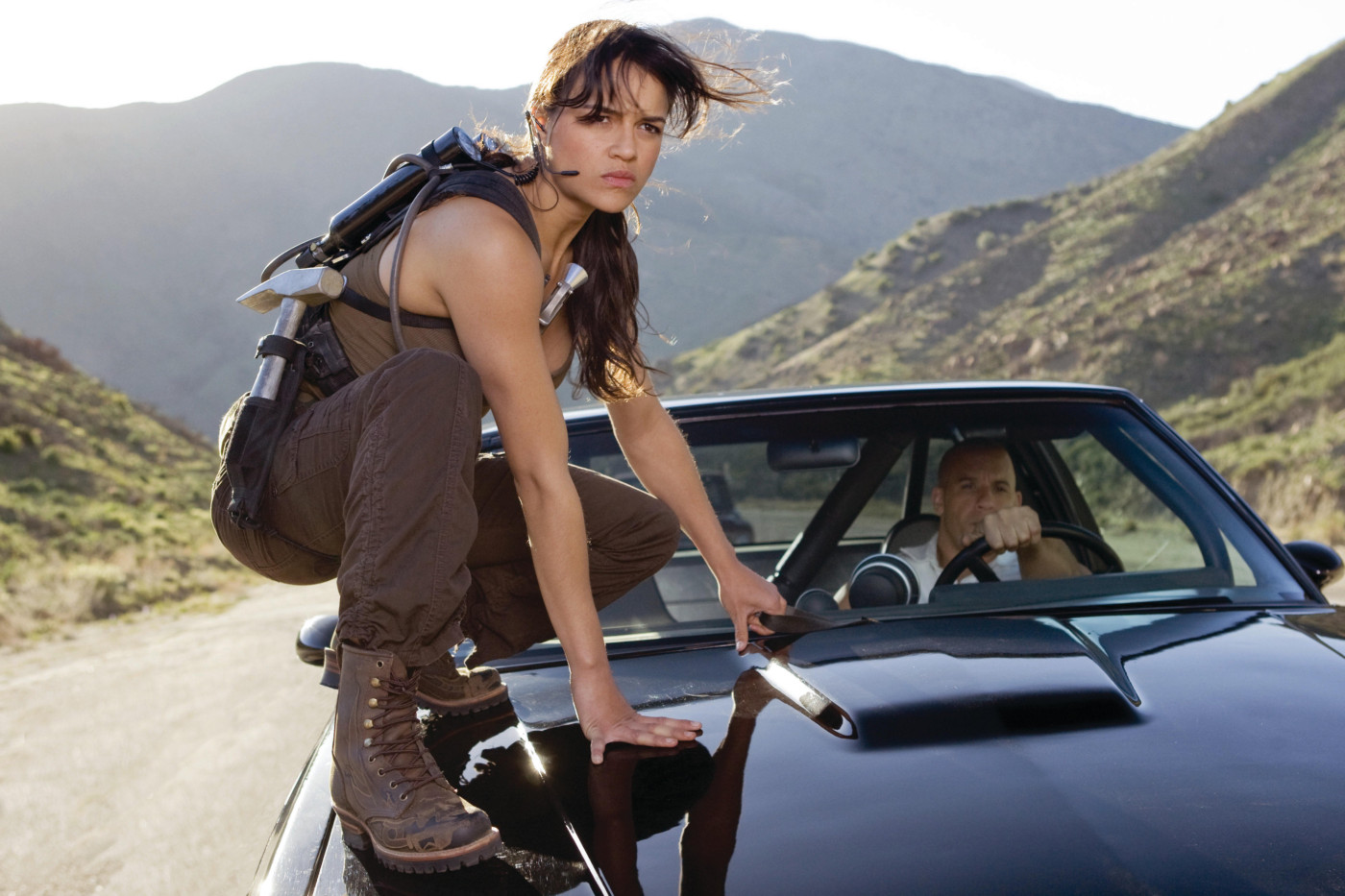 Michelle Rodriguez as Letty, Fast and Furious franchise