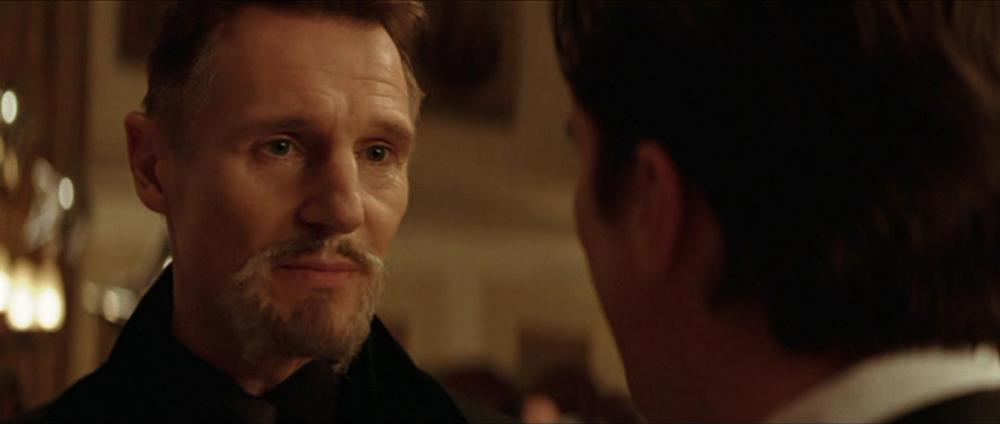 Liam Neeson as Ra's al Ghul,  Batman Begins